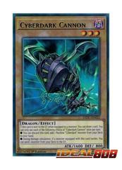 Cyberdark Cannon - LEDU-EN022 - Rare - 1st Edition