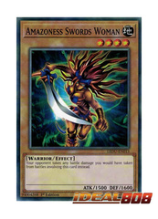 Amazoness Swords Woman - LEDU-EN013 - Common - 1st Edition