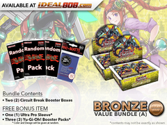 Yugioh Circuit Break Bundle (A) Bronze - Get x2 Booster Boxes + Bonus Items * PRE-ORDER Ships Oct.20