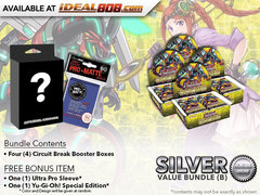 Yugioh Circuit Break Bundle (B) Silver - Get x4 Booster Boxes + Bonus Items * PRE-ORDER Ships Oct.20