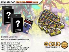 Yugioh Circuit Break Bundle (C) Gold - Get x6 Booster Boxes + Bonus Items * PRE-ORDER Ships Oct.20