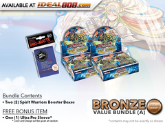 Spirit Warriors Bundle (A) Bronze - Get 2x Booster Boxes + Bonus Items * PRE-ORDER Ships Nov.17