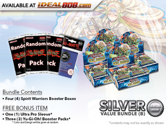 Spirit Warriors Bundle (B) Silver - Get 4x Booster Boxes + Bonus Items * PRE-ORDER Ships Nov.17