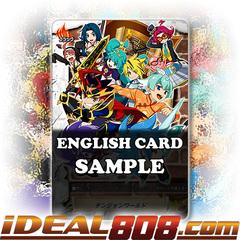 Dungeon World (Flag) [X-BT03A-UB01/S006EN SP (Gold Border FOIL)] English