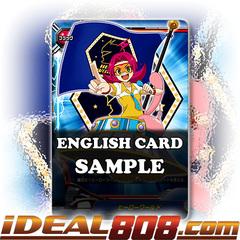 Hero World (Flag) [X-BT03A-UB02/S005EN SP (Gold Border FOIL)] English