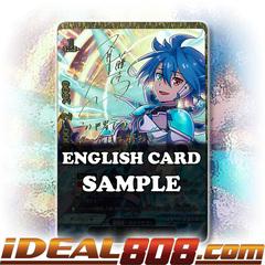 Protector of Fate, Tasuku [X-BT03A-UB01/SS001EN ER (Gold Border Autograph/Stamp FOIL)] English