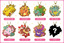 Pokemon Stained Glass BC Keychain Charm (8-count Box) [#038699]