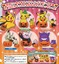 Pokemon Halloween Pumpkin Mascot SD Mini Gashapon Keychain Figure Set (Collect all 5)