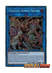 Topologic Bomber Dragon - COTD-EN046 - Secret Rare - Unlimited Edition
