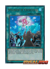 Spellbook of Knowledge - COTD-EN062 - Ultra Rare - Unlimited Edition