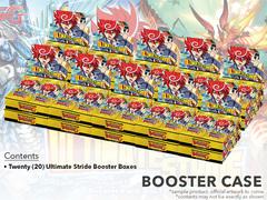 CFV-G-BT13 Ultimate Stride (English) Cardfight Vanguard G-Booster  Case [20 Boxes] * PRE-ORDER Ships Dec.22