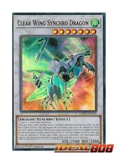 Clear Wing Synchro Dragon - LEDD-ENC29 - Ultra Rare - 1st Edition