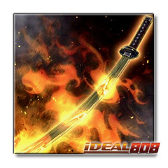 Burning Bamboo Sword - CIBR-EN066 - Common ** Pre-Order Ships Oct.20