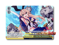 Fast like Shimakaze [KC/S25-E034R RRR (FOIL)] English