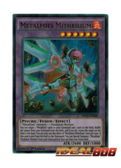 Metalfoes Mithrilium - INOV-EN040 - Ultra Rare - 1st Edition