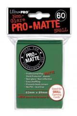 Ultra Pro Matte Non-Glare Small Sleeves 60ct - Green (#84265)