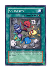 Solidarity -  SDMM-EN030  - Common - Unlimited Edition