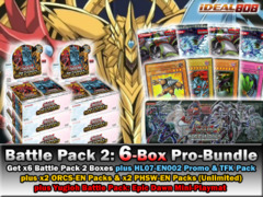 Yugioh BP02 Mega-Bundle: Get x6 Battle Pack 2: War of the Giants Booster Box plus x4 Packs, BP01-Playmat & More! * PRE-6/28 on Ideal808