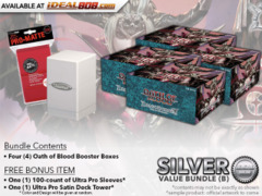 Dragoborne BT02 Bundle (B) - Get x4 Oath of Blood Booster Boxes + FREE Bonus Items * PRE-ORDER Ships Nov.10