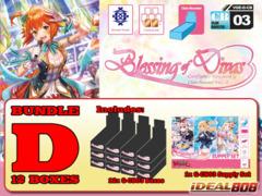 Cardfight Vanguard G-CB03 Bundle (D) - Get x12 Blessing of Divas Booster Box & x1 Supply Set * PRE-ORDER Jul.29
