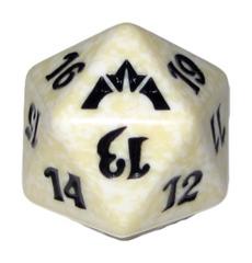 MTG Spindown 20 Life Counter - Gatecrash (Orzhov - White/Black)