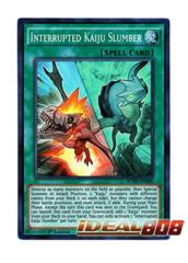 Interrupted Kaiju Slumber - BOSH-EN089 - Super Rare - 1st Edition