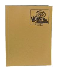 Monster Protectors 9 Pocket Binder - Matte - Gold