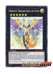 Hieratic Dragon King of Atum - Super - GAOV-EN047 (1st Edition) ** In-Stock! Ready to Ship! on Ideal808