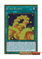 Cubic Karma - MVP1-ENG41 - Gold Rare - 1st Edition