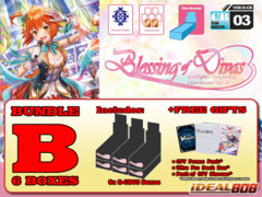 Cardfight Vanguard G-CB03 Bundle (B) - Get x6 Blessing of Divas Booster Box + FREE Bonus Item