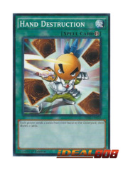 Hand Destruction - SR02-EN030 - Common - 1st Edition