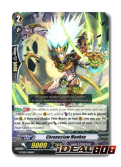 Chronoclaw Monkey - G-TD09/006EN - RRR (Hot Stamp Foil)