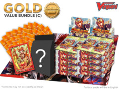 Cardfight Vanguard G-BT10 Bundle (C) Gold - Get x8 Raging Clash of the Blade Fangs Booster Box + FREE Bonus Items * Ships Apr.14