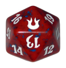 MTG Spindown 20 Life Counter - BNG Born of the Gods (Red)