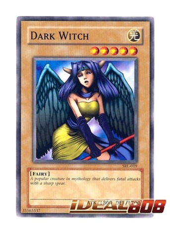Dark Witch - SRL-019 - Common - Unlimited Edition