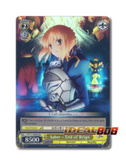 Saber - End of Reign [FZ/S17-E009S SR (FOIL)] English