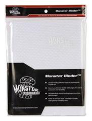 Monster Protectors 9 Pocket Binder - Transparent - Clear White