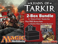 Magic KTK Bundle (A) - Get x2 Khans of Tarkir Booster Box + FREE Bonus (Playmat) on Ideal808