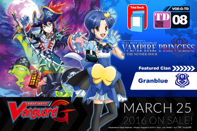 G-TD08 Vampire Princess of the Nether Hour (English) G Trial Deck ** Pre-Order Ships March 25, 2016