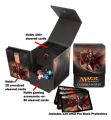 Magic the Gathering CMD Commander Command Tower Set - Kaalia of the Vast (#86193) [Limited Edition]
