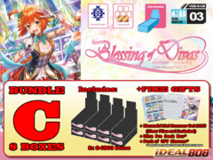 Cardfight Vanguard G-CB03 Bundle (C) - Get x8 Blessing of Divas Booster Box + FREE Bonus Item