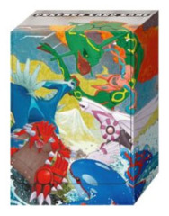 Pokemon LEGEND Compact Deck Box - Clash at the Summit - Rayquaza, Deoxys, Dialga, Palkia, Groudon, Kyogre on Ideal808