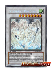 Stardust Dragon - TDGS-EN040  - Ghost Rare - 1st Edition