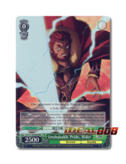 Unshakable Pride, Rider [FZ/S17-E034R RRR (FOIL)] English