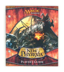 Magic the Gathering Player's Guide w/Checklist - New Phyrexia