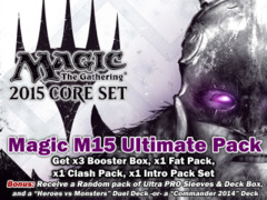 Magic 2015 (M15) Core Set Bundle (C) - Get x3 Booster Boxes & x1 of each (Fat Pack, Clash Pack, Intro Pack) + FREE Bonuses on Ideal808