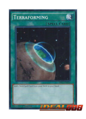 Terraforming - SR02-EN034 - Common - 1st Edition