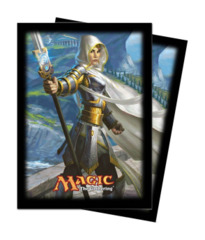 Magic the Gathering THS Theros Sleeve 80ct. - Elspeth, Sun's Champion