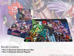 CFV-G-BT11 Demonic Advent (English) Cardfight Vanguard G-Booster Box + Random Playmat