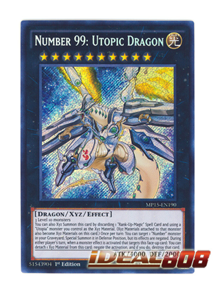 Yugioh Number 99 Universe Dragon YUGIOH x 1 Number 99: ...
